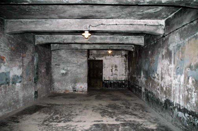 The gas chamber is inaugurated at Auschwitz.