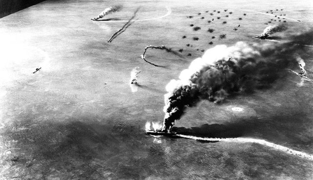 The Midway Battle.