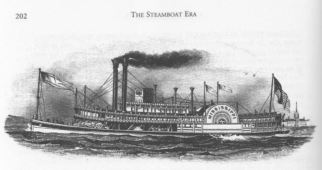 Steamboat by Robert Fulton