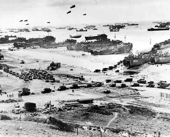 The D-Day Battle.