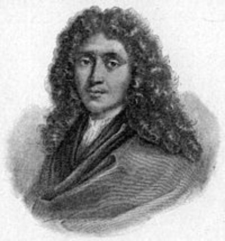 Nacimiento de Molière