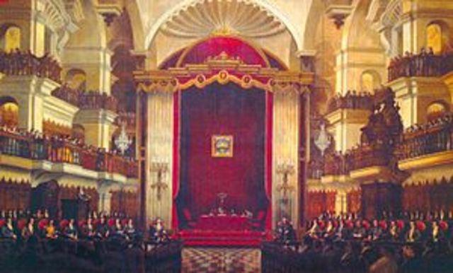 Instalación del Primer Congreso Constituyente