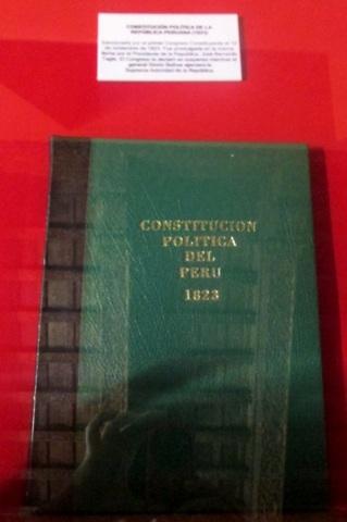 Promulgación de la Primera Constitución por Torre Tagle
