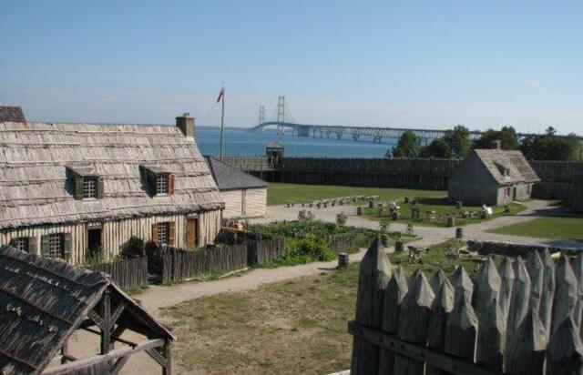 Fort Michilimackinac Captured