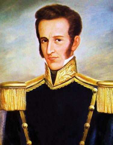 José de la Mar es elegido como Presidente del Perú