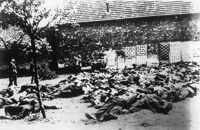 Nazis liquidate Lidice in reprisal for Heydrich's assassination