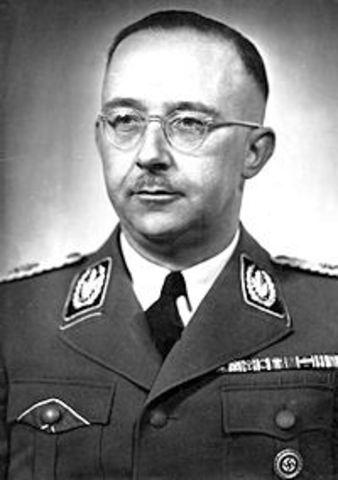 SS-Reichsführer Himmler gives speech at Posen.