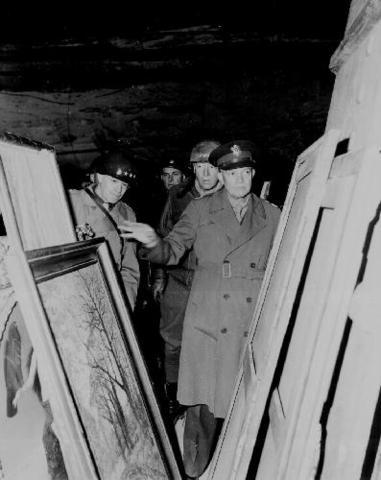 Allies discover stolen Nazi art and wealth hidden in German salt mines