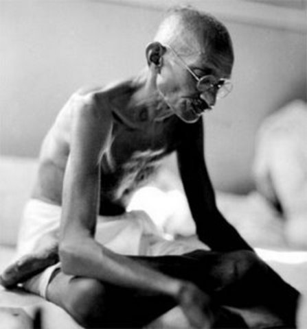 Gandhi's Hunger Strike