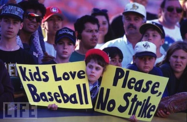 1994 MLB Strike Ends