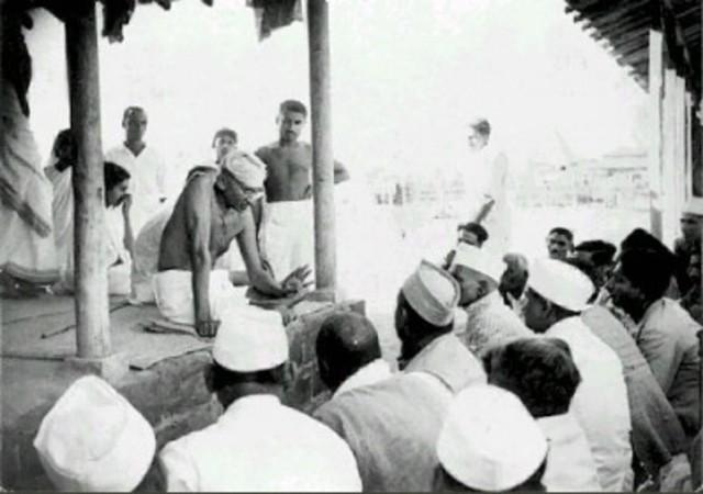 Gandhi is welcomed in India