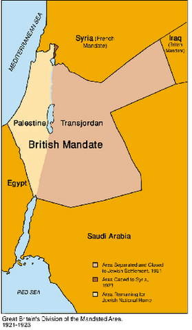 New changes in Palestine