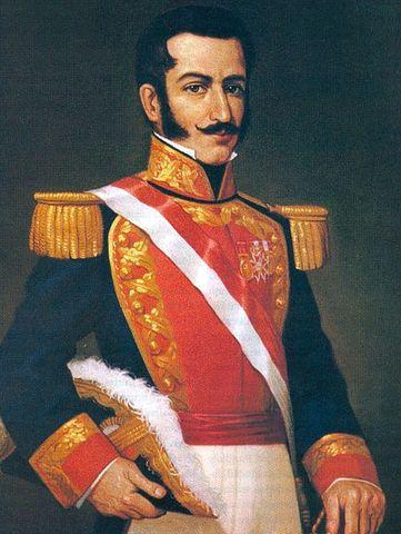 Felipe Santiago Salaverry toma el control del Perú