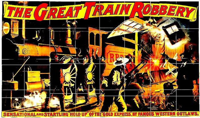 Premiere of The Great Train Robbery