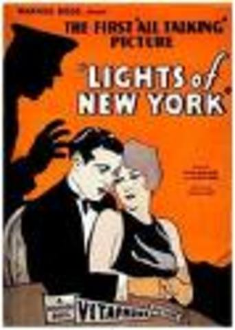Premiere of Lights of New York