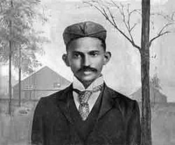 Birth of Mohandas Gandhi