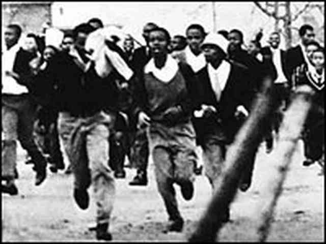 Student uprising in Soweto