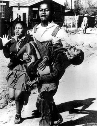 The Student Uprising in Soweto