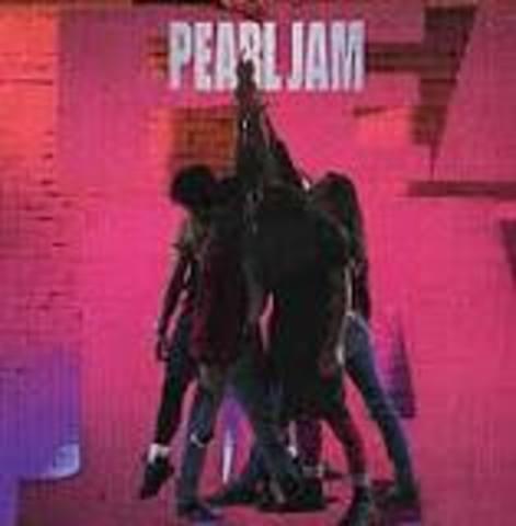 Pearl Jam released Ten