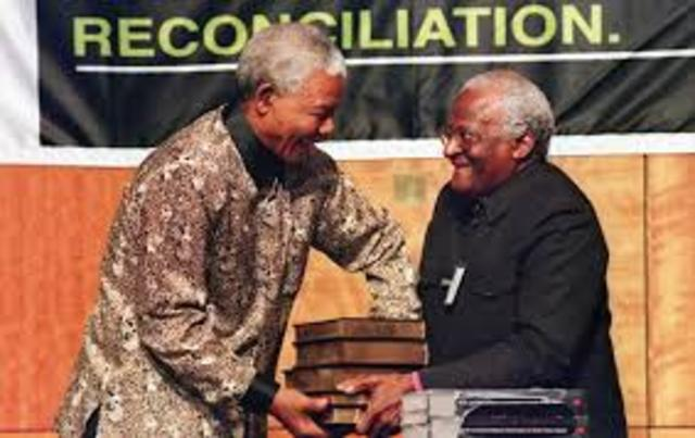 Presentation of the Truth and Reconciliation Commission report to President Mandela