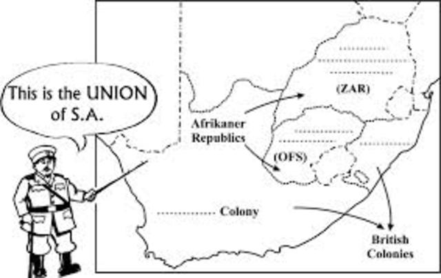 Union of South Africa.
