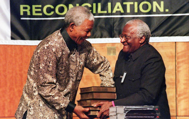 Presentation of the report of the Truth and Reconciliation Commission to President Mandela