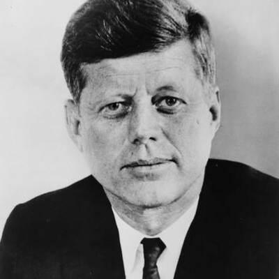 John F Kennedy's Life timeline