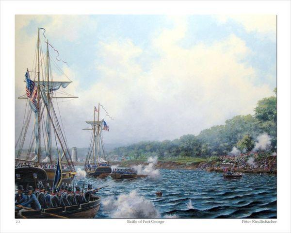 Americans Attack Along Niagara River