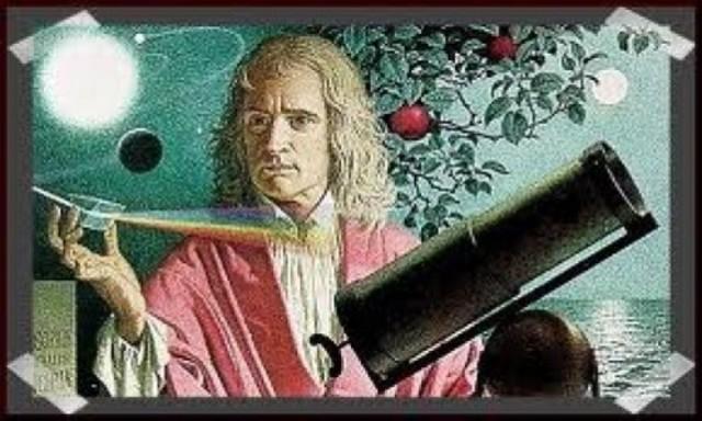 Isaac Newton (4 de enero de 1643 – 31 de marzo de 1727)