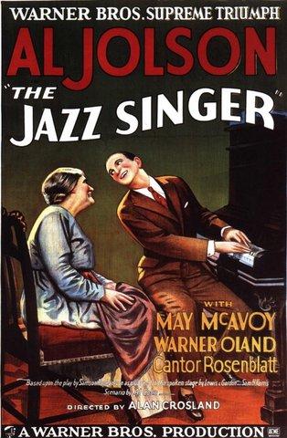 THE JAZZ SINGER (Alan Crosland)