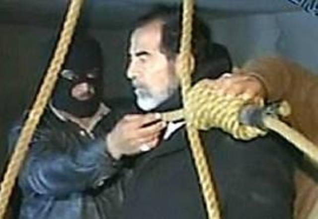 Saddam Husein executed.