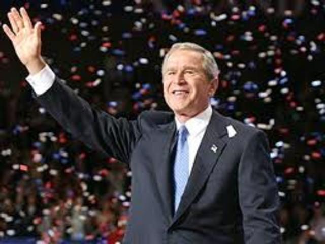 Bush Wins reelection