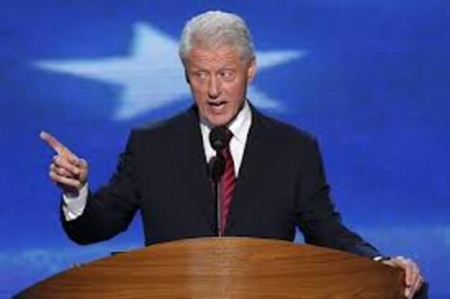 Democrats nominate Clinton for the 1992  presidential election