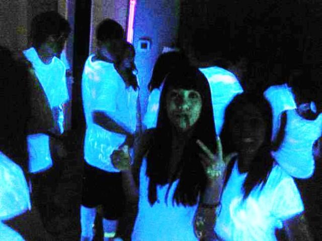 Blacklight Highlighter Party