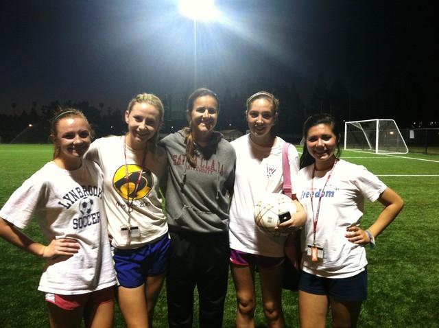 SCU Soccer Camp