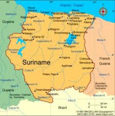 Guerra de Independencia de Surinam