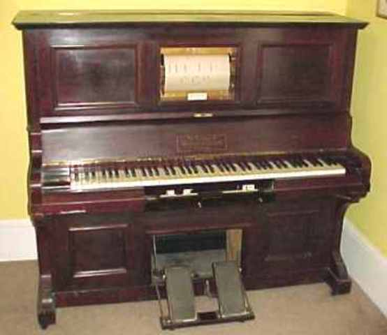 Pianola or Player Piano invented
