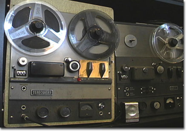 Stereo tape recordings appear
