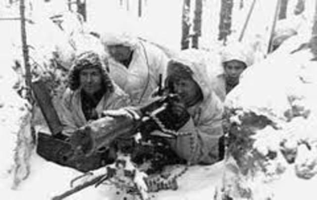 Stalin attacks Finland