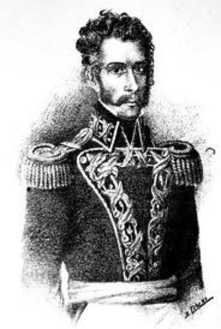 Presidencia del General Antonio Gutiérrez de La Fuente