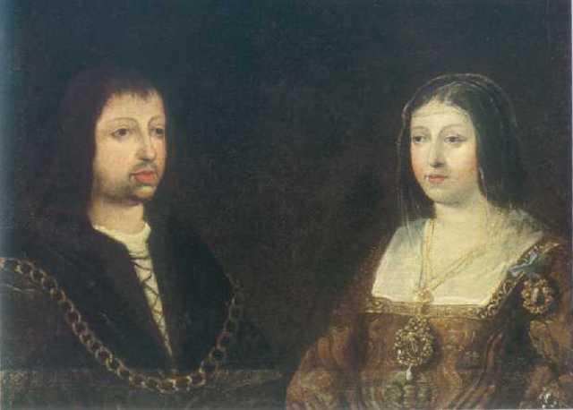 Fernando y Isabella casaron