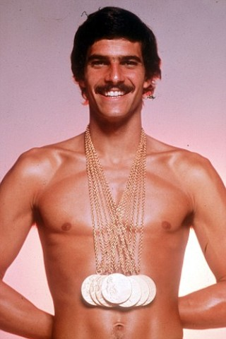 Mark Spitz wins 7 Gold Medals at Olympics in Munich, West Germany