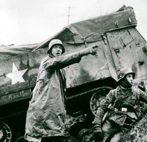 The Battle of Bulge.