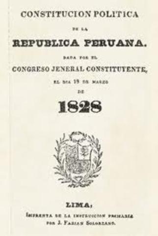 CONSTITUCIÓN POLÍTICA DE LA REPÚBLICA PERUANA DE 1828
