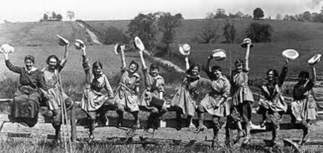 Womens roles in WW1
