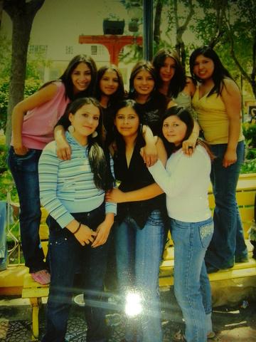 mis amigas de la secundaria