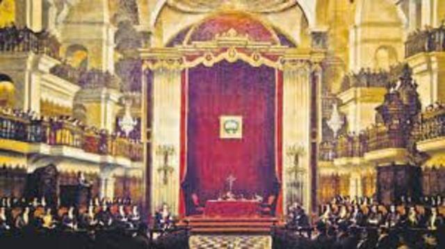 Se Crea el Primer Congreso Constituyente