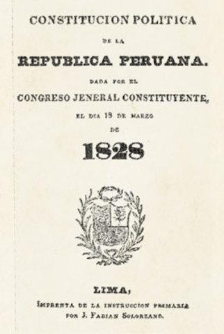 Creación Constitución Politica de 1828