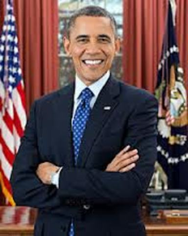 Obama being president