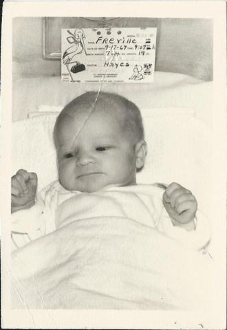 My mom is born